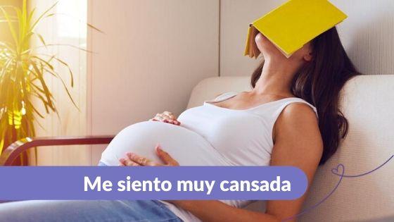 Cansancio en el embarazo Maternar