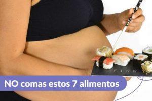 Alimentos prohibidos en el embarazo Maternar