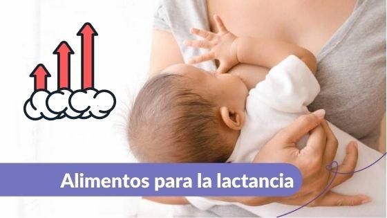 Alimentos para la lactancia Maternar